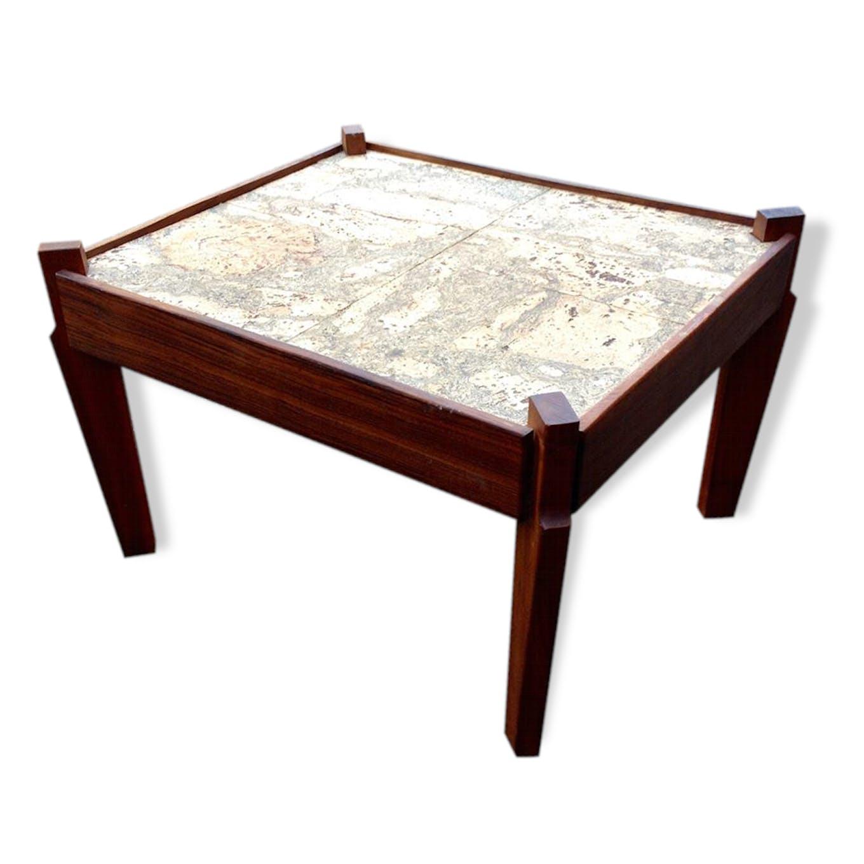 Petite Table Basse Gueridon Wood Wooden Scandinavian 37660