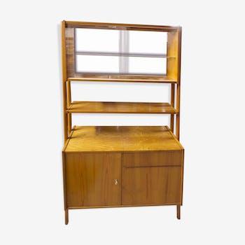 biblioth que vintage d 39 occasion. Black Bedroom Furniture Sets. Home Design Ideas