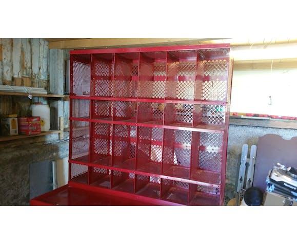 Metal mail locker office