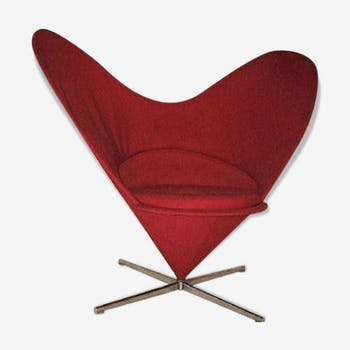 Chair Heart Cone by Verner Panton for Vitra