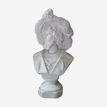 Plaster bust of Faust