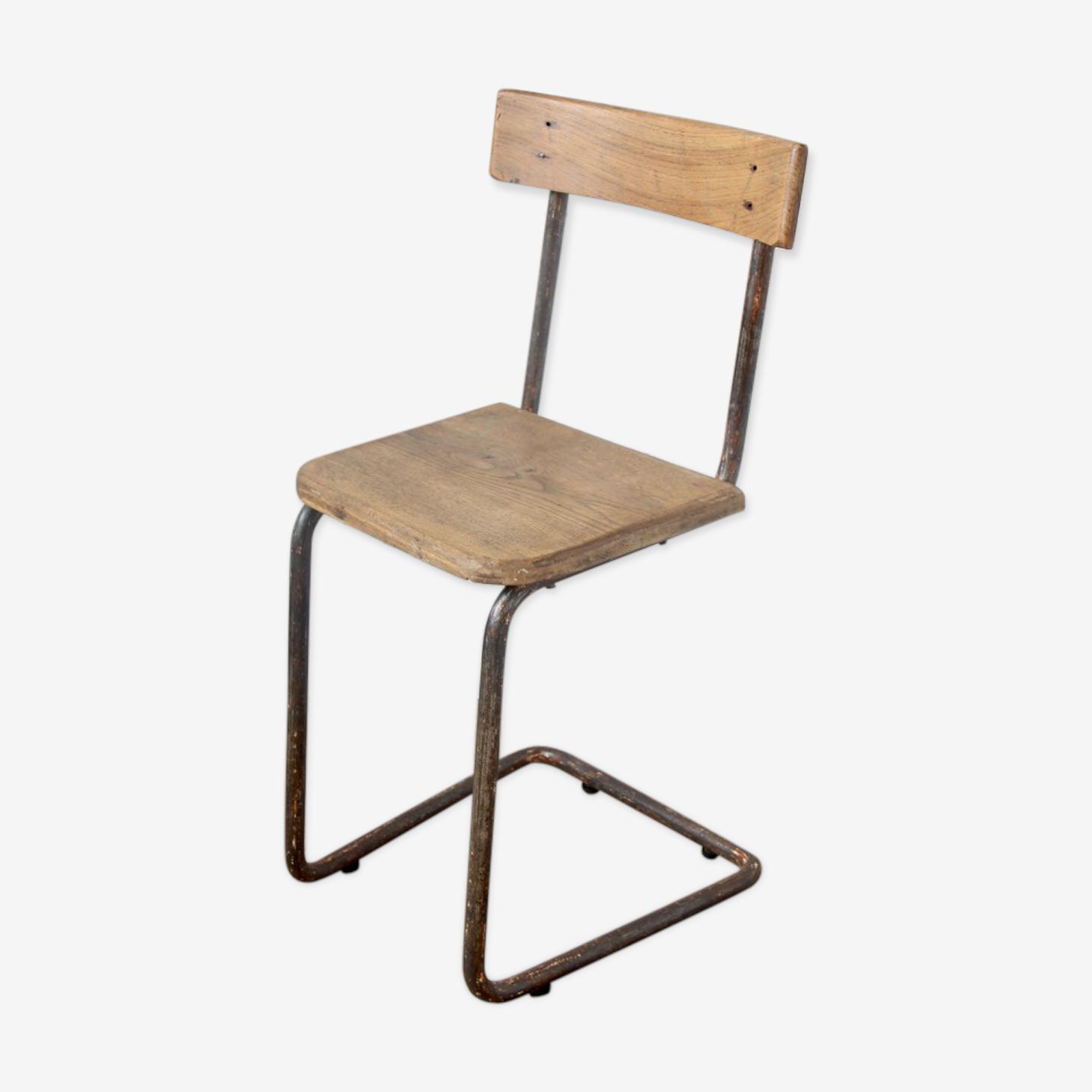 Chaise école vintage