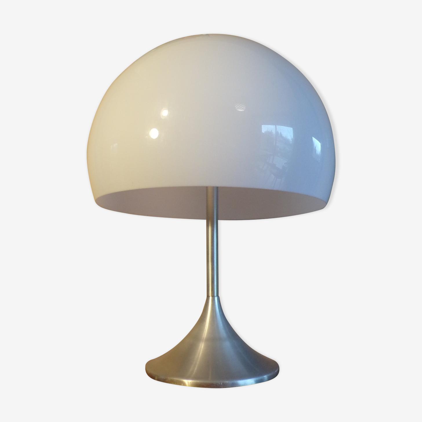 Large mushroom 1970 table lamp