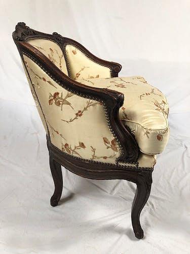 Duchesse brisée de style Louis XV, XIXe