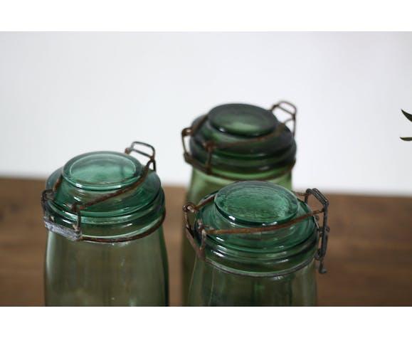 Old glass jars