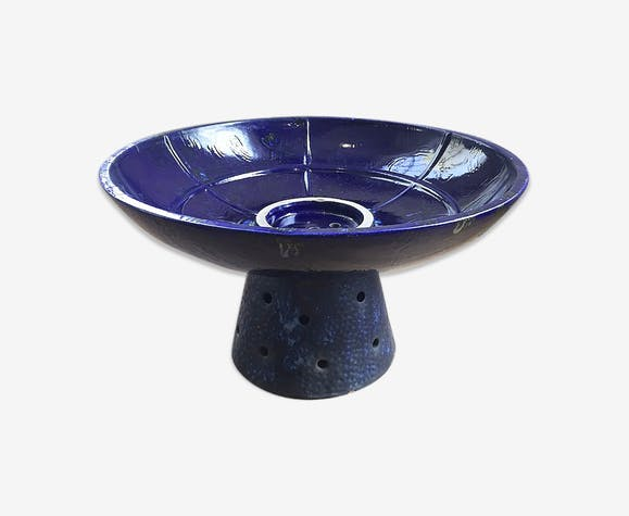 Vasque jardinière céramique bleue - céramique, porcelaine et ...