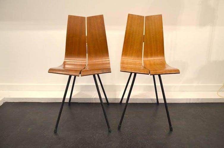 Pair of chairs Hans Bellman around 1950