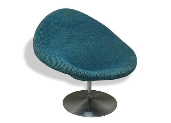 chaise artifort by pierre paulin 1960 tissu vintage 24404. Black Bedroom Furniture Sets. Home Design Ideas