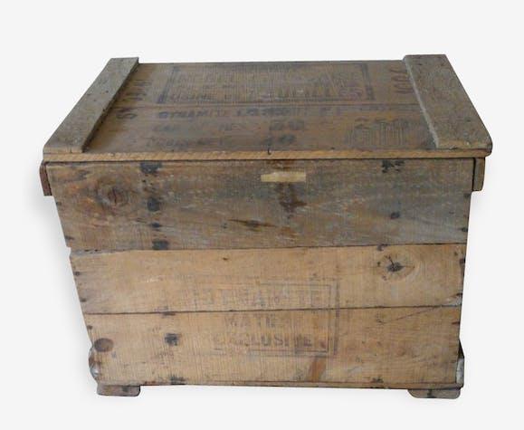 Ancienne caisse de dynamite