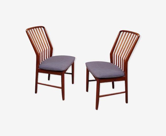 Lot de 4 chaises à manger par Svend Aage Madsen