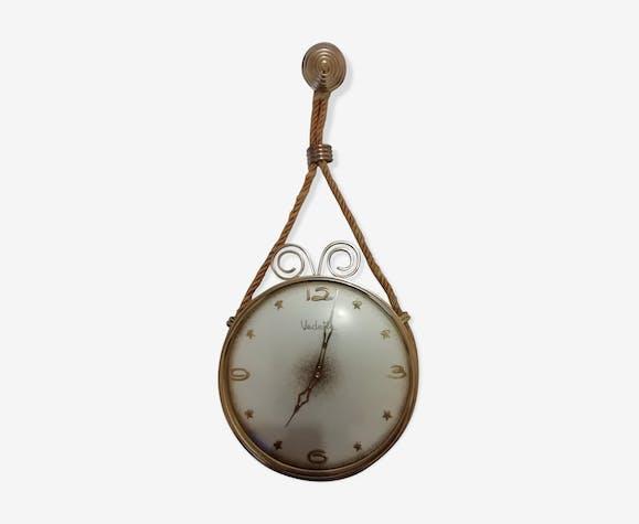 Horloge Vedette en laiton 1960