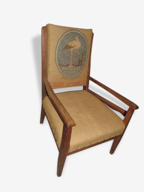 ossature bois fauteuil