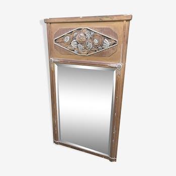 Miroir trumeau art déco 71x135cm
