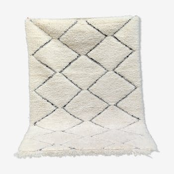 Moroccan berber carpet handmade 105x150 cm