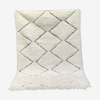 Tapis berbère marocain fait main 105x150 cm