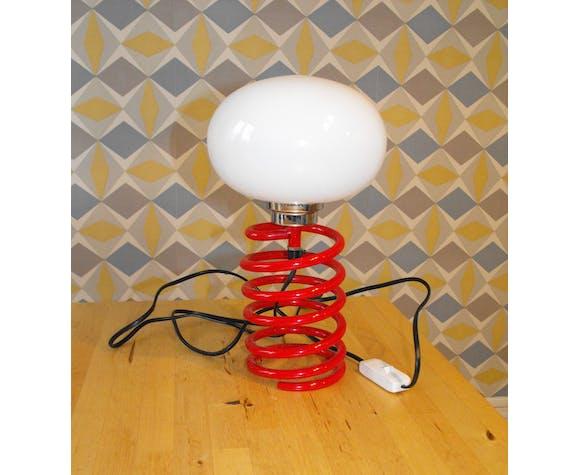Lampe ressort années 70