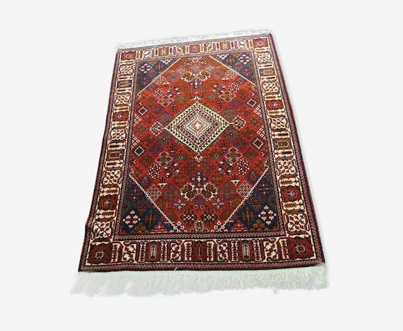 Tapis persan rouge 207x132cm