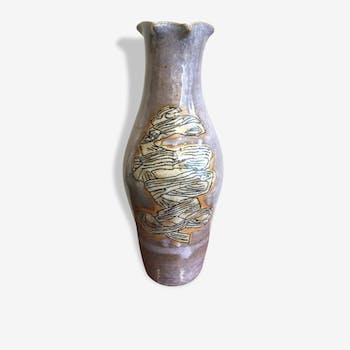 1950 ceramic large Vase