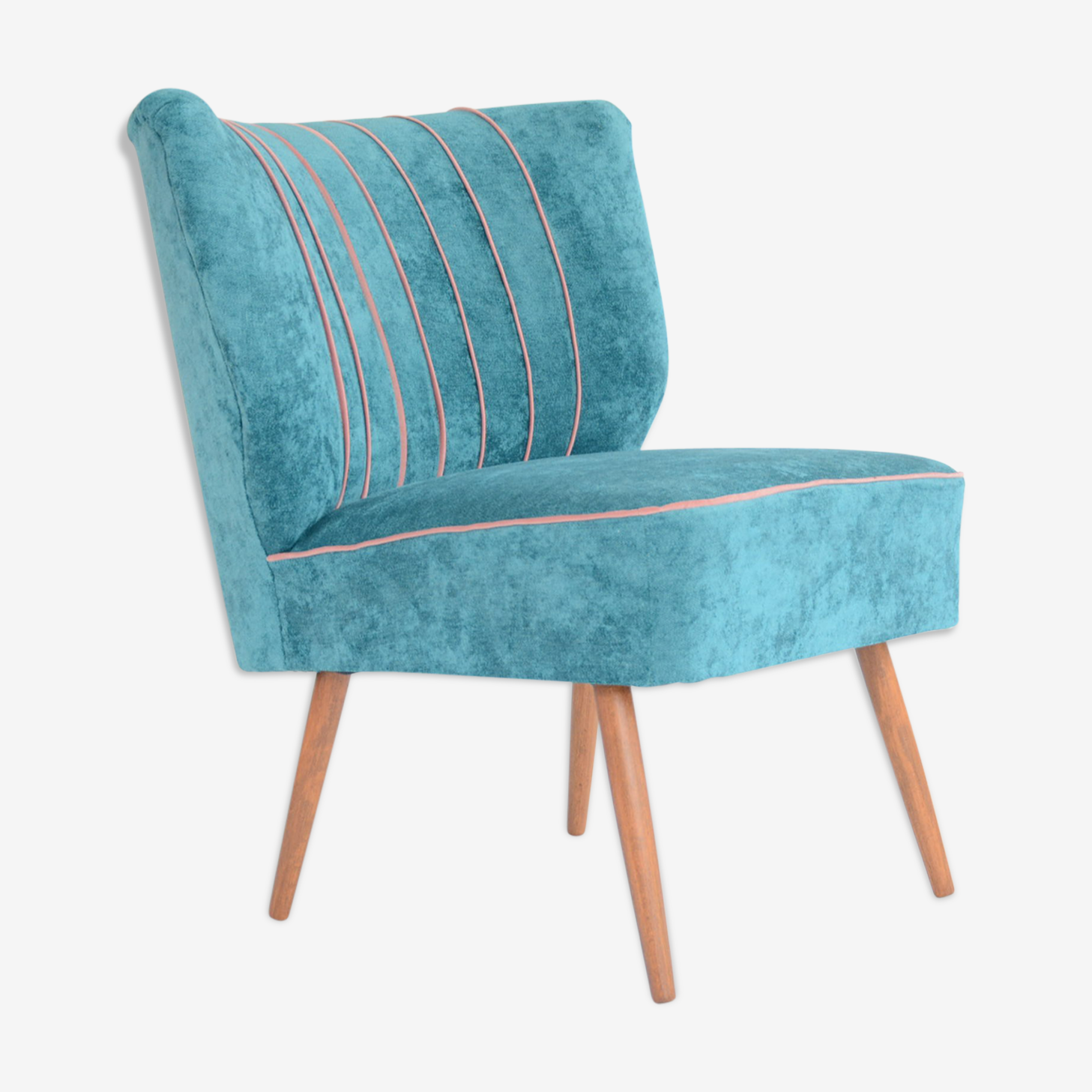 Blue armchairs