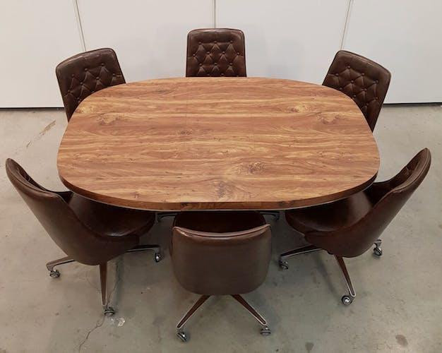 Table à manger Shelby Williams et 6 chaises