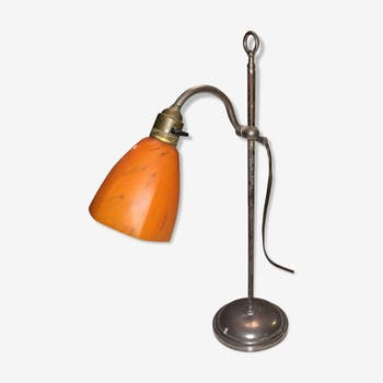 Height-adjustable gooseneck light