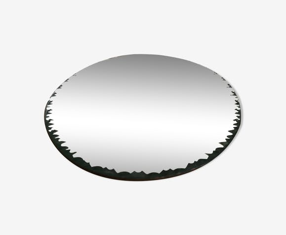 Miroir biseauté ancien 30x40cm