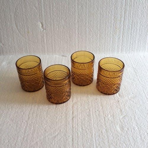 Glasses amber pineapple