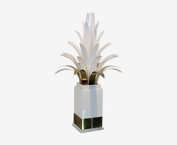 Lampe palmier par Peter Doff Pays-Bas années 70