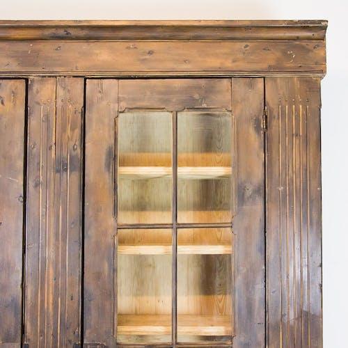 Antique pine cabinet, 1910