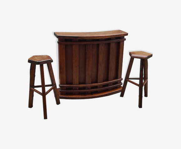 Bar and 2 stools 1950