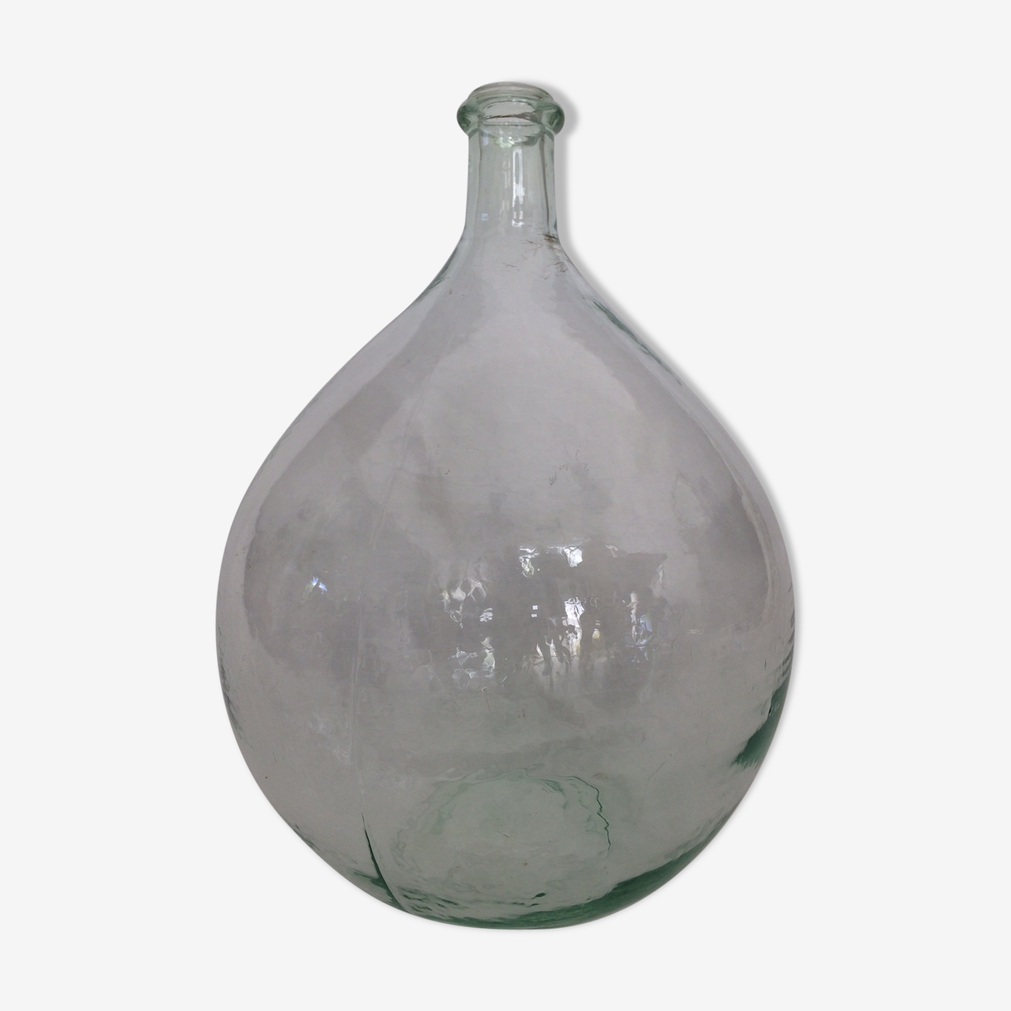Transparent demijohn of 25l