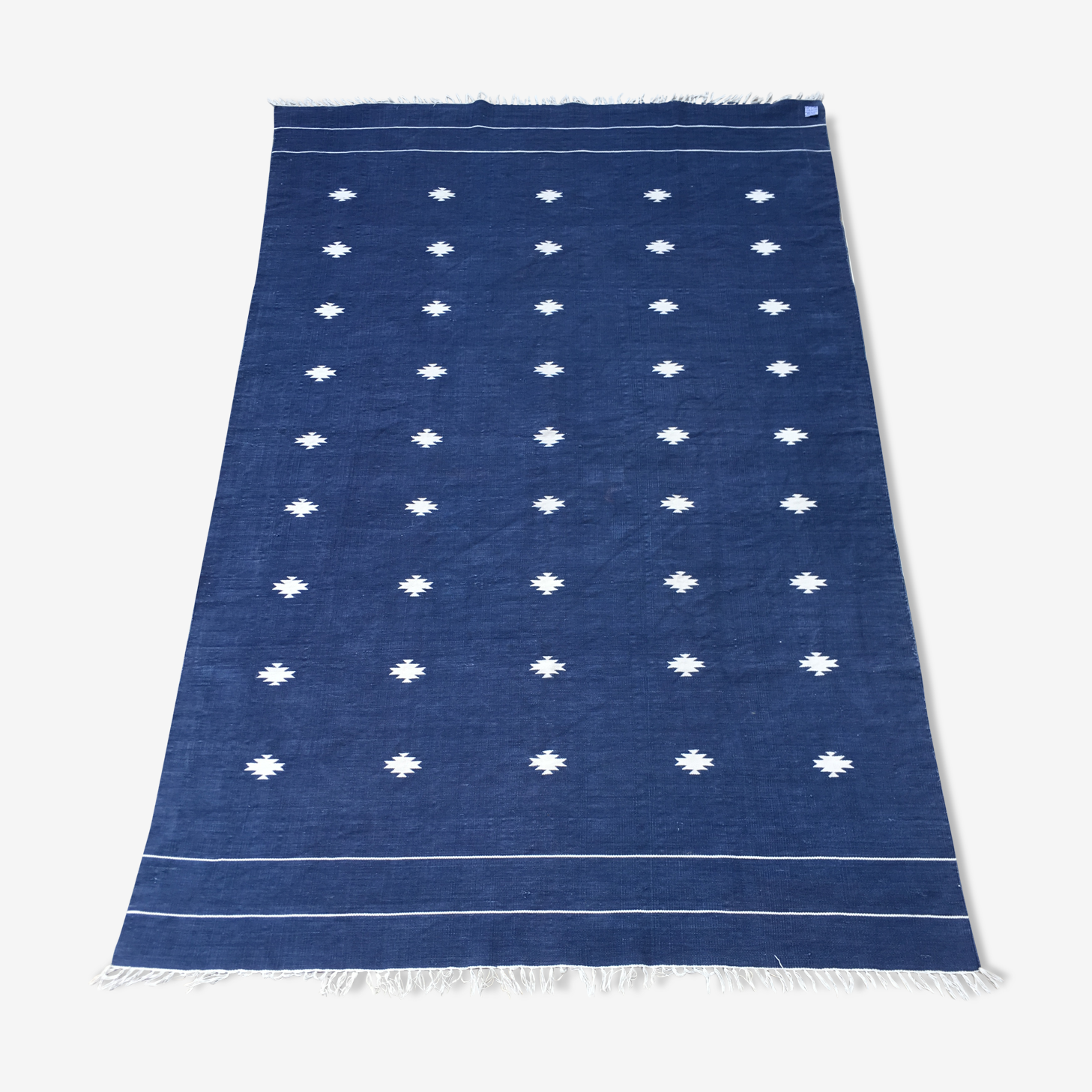 Tapis kilim 100% coton 165x262cm