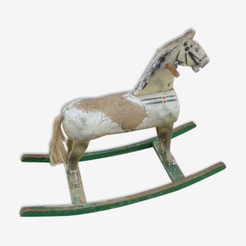 cheval bascule vintage d 39 occasion selency. Black Bedroom Furniture Sets. Home Design Ideas