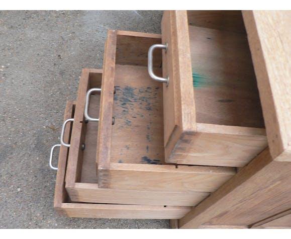 Bureau en chêne décapé