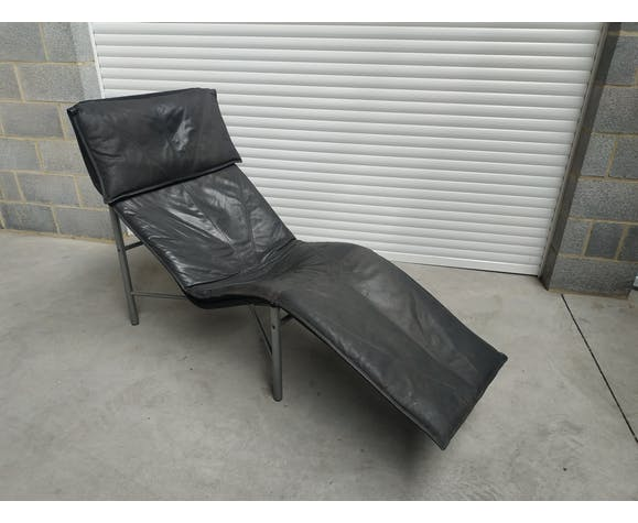Chaise longue skye Tord Björklund pour Ikea année 80