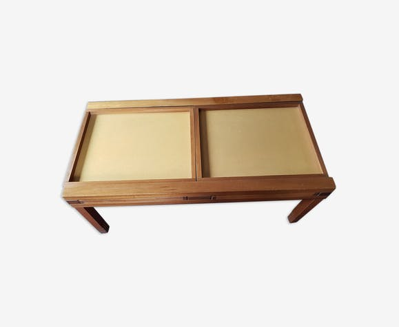 nouvelle arrivee ae06b cf105 Table basse en bois modulable et transformable en table ...