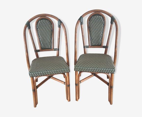 Paire de chaises Drucker