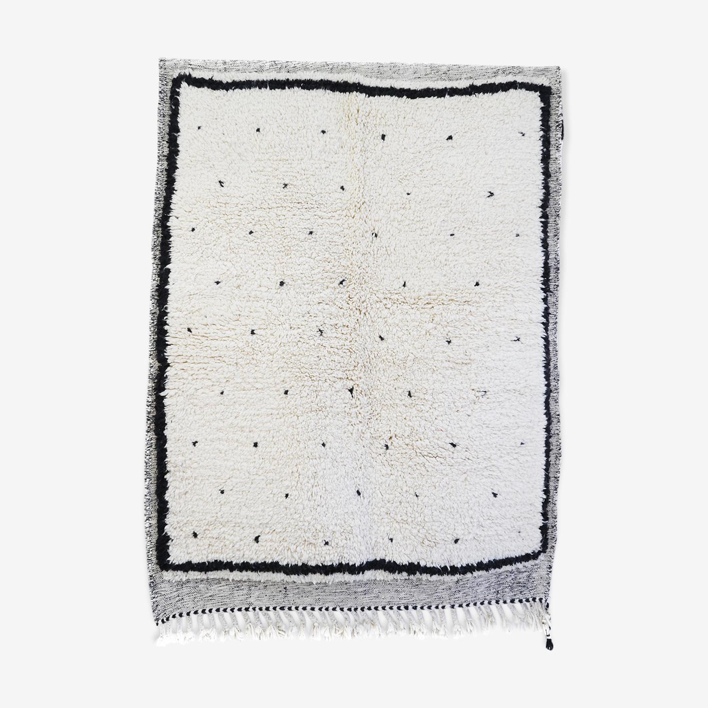 Tapis berbère béni ouarain 191x146 cm