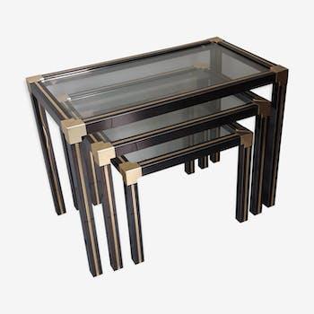 tables gigogne 7080 - Table Gigogne Vintage