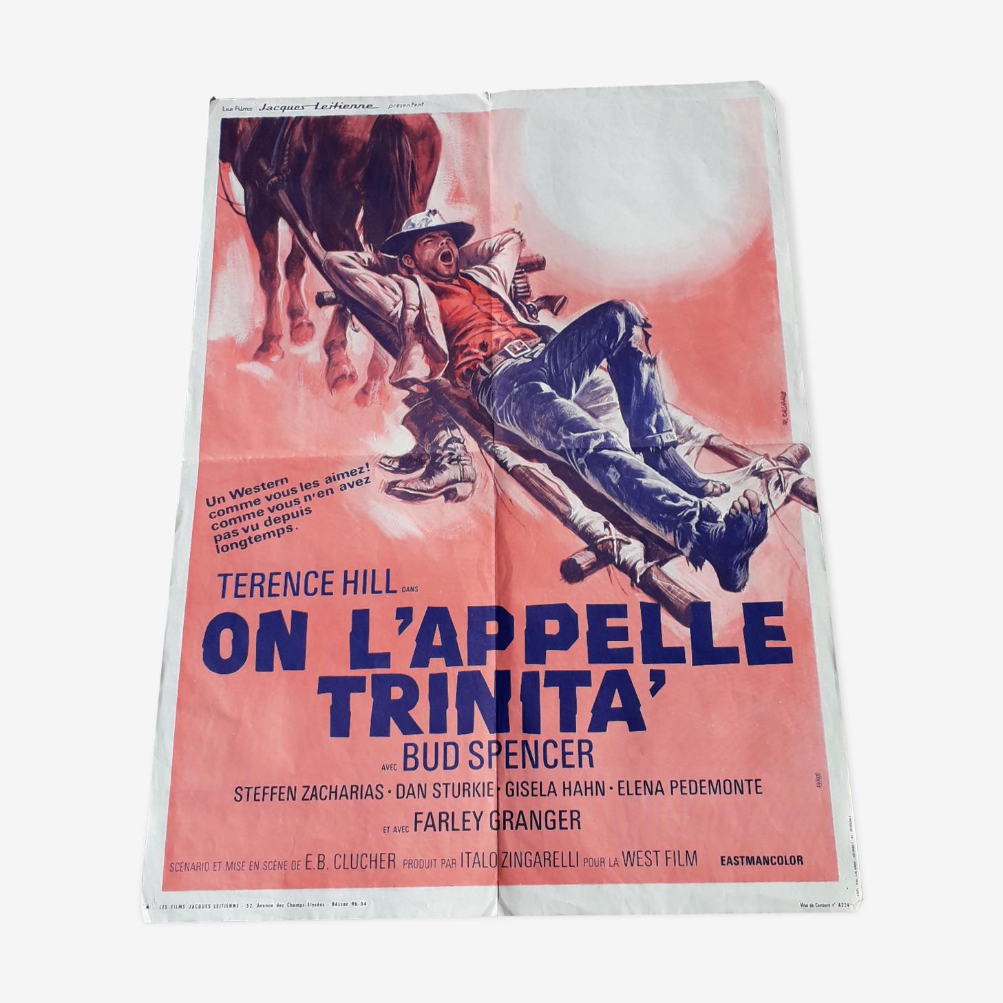 Cinema poster it is called Trinita 1970
