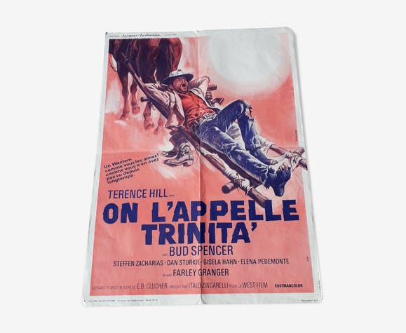 Cinema poster it is called Trinita 1970