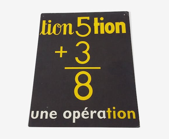 Reading image : the operation