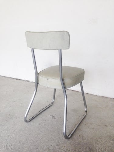 Industrial Chair in the 1960s warehouse