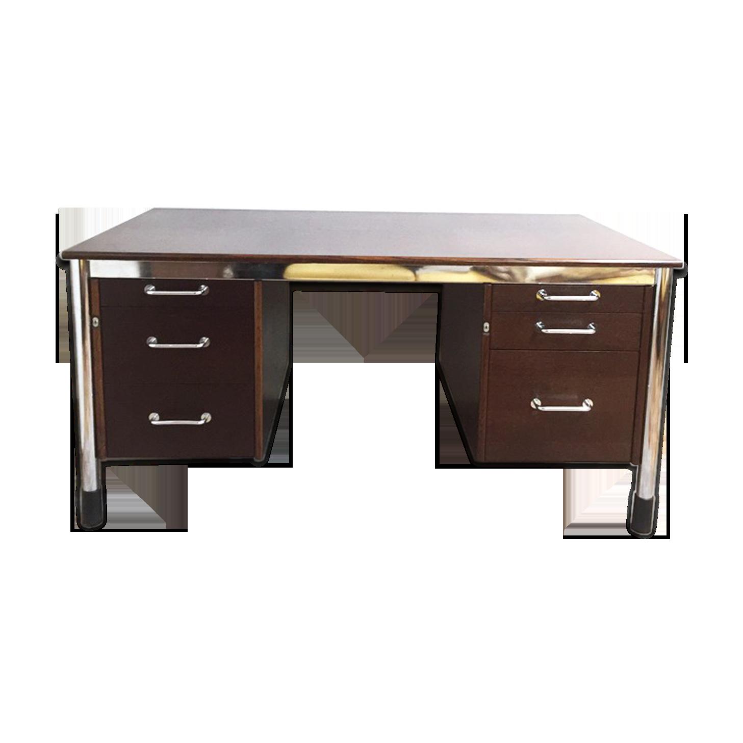 Bureau ikea collector vintage bois matériau bois