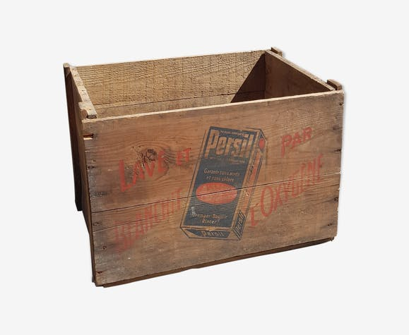 """Old wooden crate """"parsley"""""""
