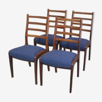Set of 4  teak chairs by VB Wilkins for G-Plan, scandinavian style