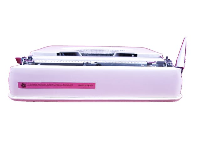 Hermes Baby Beige vintage typewriter Revised new ribbon
