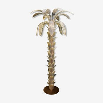 Murano glass palm lamppost