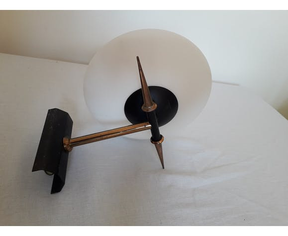 White and black wall lamp 50