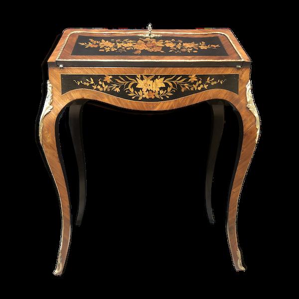 Bureau de pente de style Louis XV